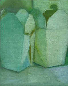 Untitled Containers 2 oil on canvas Yvonne Piburn