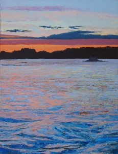 Bill & Jack's Sunset #2 20x27 o/c