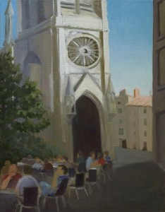 Carre de St. AnneMontpellier, Franceoil on canvas, 14x18$450